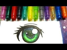 How to Colour Eyes with Copic Markers (3 Ways) - YouTube