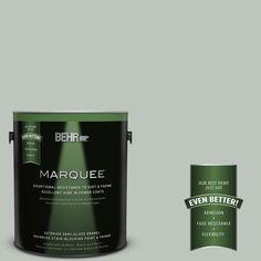 BEHR MARQUEE 1-gal. #N410-3 Riverdale Semi-Gloss Enamel Exterior Paint