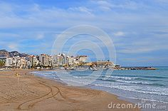 Pointe Beach Benidorm - Download From Over 28 Million High Quality Stock Photos, Images, Vectors. Sign up for FREE today. Image: 47472432