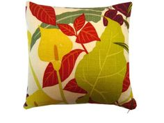Decorative pillow  Robert Allen Fabric for throw pillow by LenkArt, $30.00