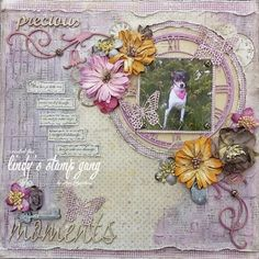 """""""Precious Moments"""" Layout by Amy Voorthuis 