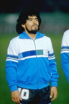 Portrait of Diego Maradona of Argentina before a match against France in Paris France won the match 20 Mandatory Credit Allsport UK /Allsport Football Images, Football Gif, Sport Football, Football Shirts, Good Soccer Players, Best Football Players, Football Is Life, Old Boys, Fifa