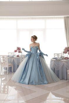 ディズニー公認の新作ドレス♡6作品のプリンセスをモチーフにした可愛いカラードレスを大公開*にて紹介している画像