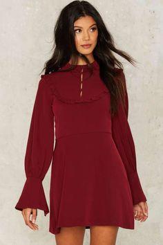 Like It Ruffle Mini Dress