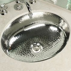 WS Bath Collections Seychelles Metal Self Rimming Bathroom Sink | ATG Stores