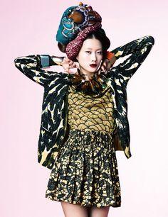 Harper's Bazaar Korea March 2012 || Print Extasy