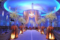 Ceremony decor idea- need it in our colors