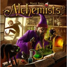 Alchemists - WHAT a brain burner! Our first game took around 4 hours, just trying to figure it all out.. we took a food break and played a SECOND GAME for another 2 hours! As time consuming as this game is, we still get it onto the table as much as we can. The use of the app is great and fun, but the deduction/puzzle solving is my favorite part of all. Highly recommended!