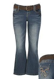 Plus Size; Jeans