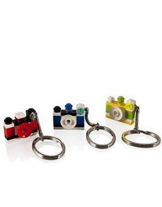 #gift #idearegalo #portachiavi Portachiavi Fotocamera Lego