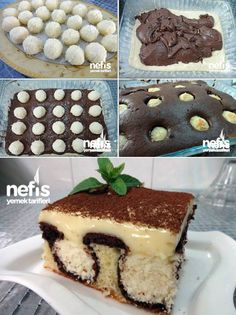 """Sabah Çiyi"" Pastası The Effective Pictures We Offer You About Arabi Mousse Au Chocolat Torte, Arabic Sweets, Starchy Foods, Best Oatmeal, Some Recipe, Protein Foods, Base Foods, Food Items, Cake Recipes"