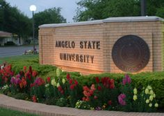 Angelo State University; I loved my college years and I miss all my friends I made there.