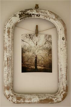 cool use of old frame
