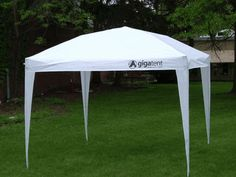 The Big Top White Outdoor Canopy Tent - 10 x 10