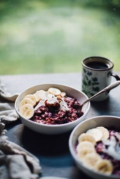Toasted Berry Coconut Oatmeal - Will Frolic for Food