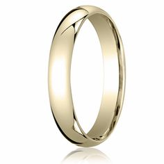4MM Classic Domed 10K Gold Comfort Fit Wedding Band Unisex. Price starts at $189.99. Price increase for sizes 8+. Find out more at Ring-Ninja.com!   #goldrings #ringninja #yellowgold #realgold #affordablerings #goldrings #comfortrings #domedring