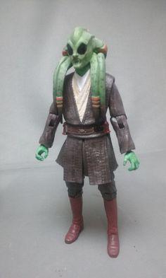 Plo Koon & Kit Fisto - Jedi Masters - Black Series (Star Wars) Custom Action Figure