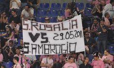 Santi in campo per #Palermo - #Inter