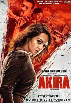 Movie : Akira ( Crime, Drama ) Director : A.R. Murugadoss Writers : A.R. Murugadoss, Karan Singh Rathore Stars : Sonakshi Sinha, Amit Sadh, Urmila Mahanta Release : 26 September 2016 Acclaimed dire…