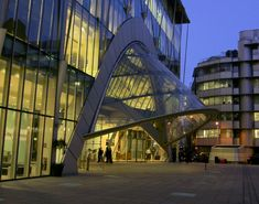 File:Entrance Canopy City Point - geograph.org.uk - 681938.jpg