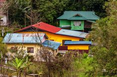 Malays houses in Malaysia House Colors, Houses, Cabin, House Styles, Holiday, Home Decor, Homes, Vacations, Room Decor