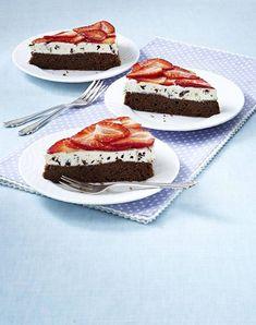 Unser beliebtes Rezept für Erdbeer-Schoko-Kuchen und mehr als 55.000 weitere kostenlose Rezepte auf LECKER.de.