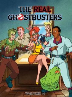 The Real Ghostbusters, Volume 2 Classic Cartoon Characters, Cartoon Tv Shows, Retro Cartoons, Classic Cartoons, Die Geisterjäger, The Real Ghostbusters, Ghostbusters 1984, Mundo Comic, Saturday Morning Cartoons