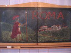 Waldorf ~ 6th grade ~ Roman History ~ chalkboard drawing