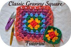 Granny Square Tutorial ~☆~ Teresa Restegui http://www.pinterest.com/teretegui/ ~☆~