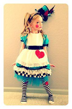 Halloween Alice and Wonderland Lalaloopsy costume