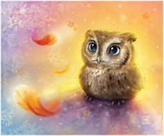 Mr. Owl by NelEilis.deviantart.com on @deviantART