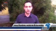Imnul României, recitat de 88 de români