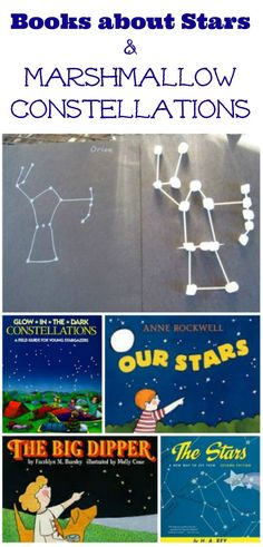 Make your own constellations with marshmallows | Hands-on science activities for kids