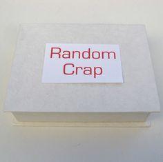 Miscellaneous storage box