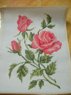 This Pin was discovered by Nan Cross Stitch Pillow, Cross Stitch Bird, Beaded Cross Stitch, Cross Stitch Borders, Crochet Cross, Cross Stitch Flowers, Cross Stitch Designs, Cross Stitching, Cross Stitch Embroidery