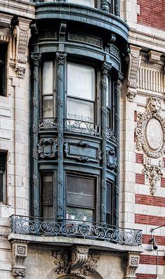 Window detail, Hotel Seville, aka The Carlton - 1904 Beaux Arts.