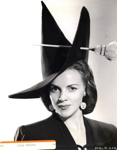 the most amazing witch's hat you or I or anyone has ever seen!