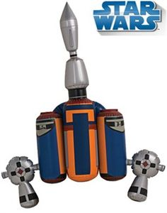 Star Wars Jango Fett Costume Accessory Jet Pack Jetpack