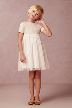 My Moon Flower Girl Dress from @BHLDN