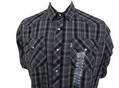 Levis Pearl Snap Western Shirt Size L New With Tags Long Sleeve Plaid Cowboy #Levis #ButtonFront SOLD