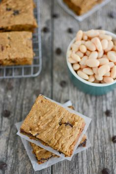These Sweet Potato White Bean Bars are perfect for breakfast or snack time. They're kid-friendly, nut-free and full of fiber! Bean Recipes, Baby Food Recipes, Snack Recipes, Kid Recipes, Recipes Dinner, Baking Recipes, Vegetarian Recipes, Recipies, Healthy Toddler Meals