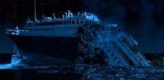Global economy is like Titanic, About to sink 'below the Icy Waves'. There are cynics, there are naysayers, and then there's Albert Edwards of Societe Generale, who is in a League of Doom all of his own. Edwards is probably Titanic Sinking, Rms Titanic, Titanic Underwater, Titanic History, National Geographic Channel, Blockbuster Film, History Magazine, Best Cinematography, Below Deck