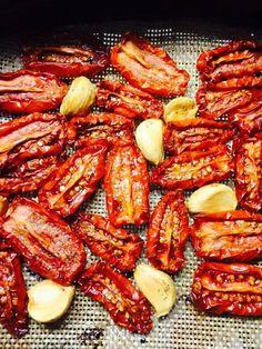 zongedroogde tomaten uit de airfryer, recept van LucianasKitchen