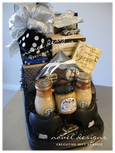 Car Console Gift Basket Perfect for Car Enthusiasts