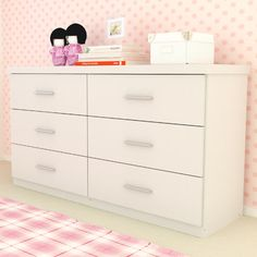 dCOR design Willow 6-Drawer Dresser