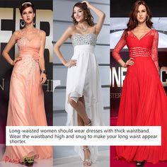 Tips: Long Dresses for Long-Waisted Women