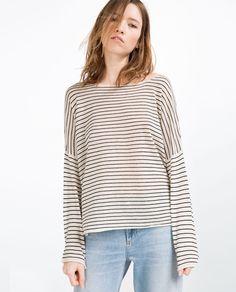 OVERSIZED SWEATER-Sweaters-KNITWEAR-WOMAN | ZARA United States