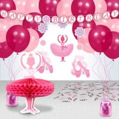 Purchase Ballerina Party Decoration Kit and other All Parties party supplies. The most popular party Supplies and Decorations, all available at wholesale prices!