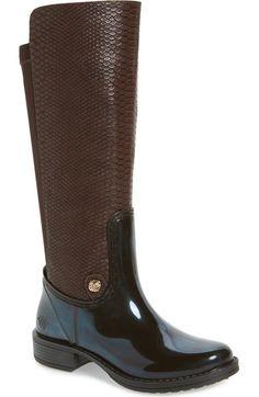 Posh Wellies 'Tanzanite' Rain Boot (Women) available at #Nordstrom