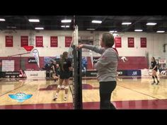 Volleyball warm up drill for ball control - The Art of Coaching Volleyball - YouTube